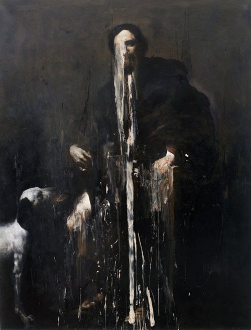 Hauntingly Beautiful Painting by Italian artist Nicola Samori