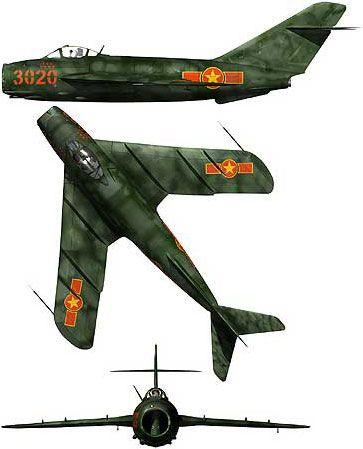 "MiG MiG-17/J-5/Lim-5/Lim-6 Fresco | North Vietnam | 923rd IAP ""Yen The"" | MiG-17F | 3020"