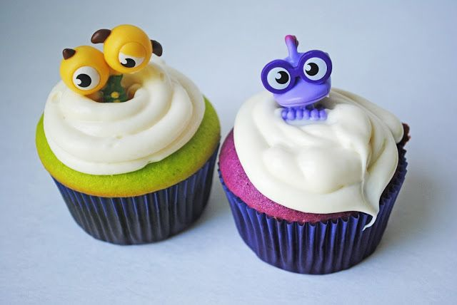 monsters university cupcakes | Celebrate the Release of Monsters University with a FUN Monster Themed ...