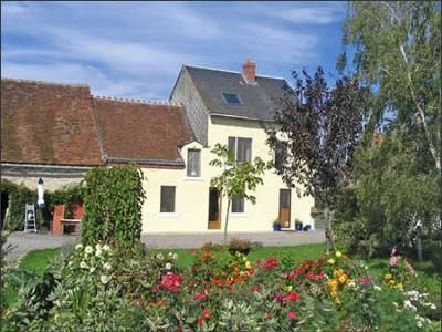 Main House: Charmingly Restored Guesthouse  This charming, former nineteenth century, farmhouse is in a picturesque rural hamlet within an hour of Limoges airport