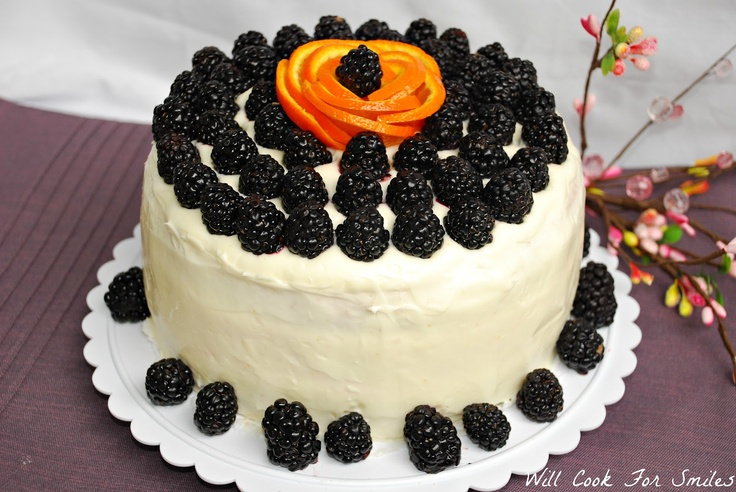 Will Cook For Smiles: Blackberry Daiquiri Cake--Recipe for cupcakes in Cuisine at Home May/June issue.