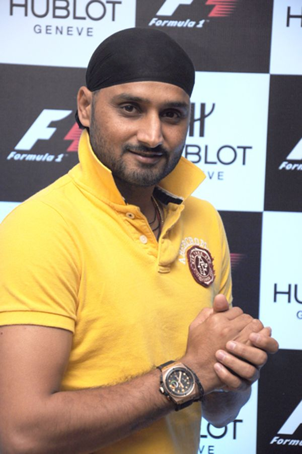 Harbhajan singh for hublot indian celebrity watch brand ambassadors pinterest brand for Celebrity watch brand male