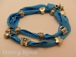 Fashion bracelet_ blue