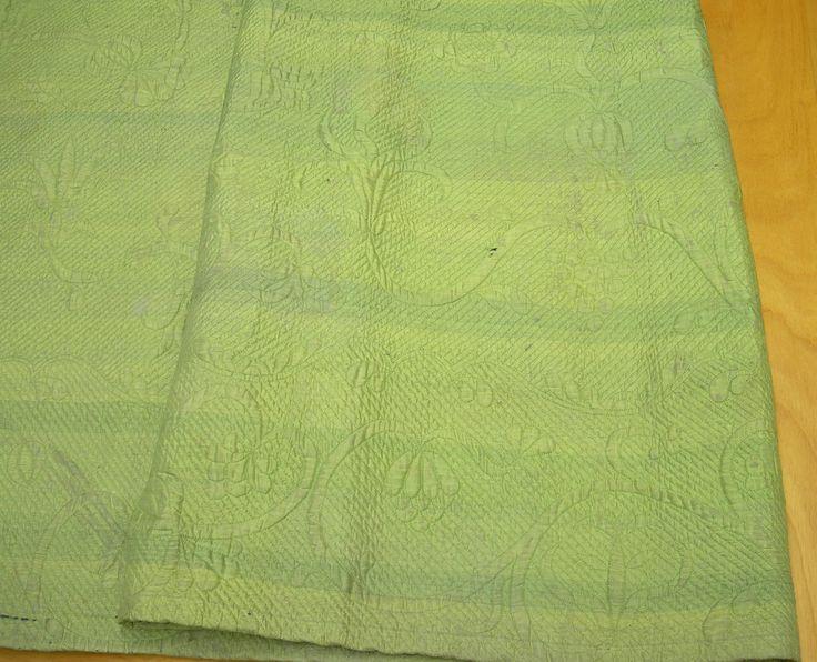 Quilted petticoat, ca. 1750; Winterthur, 1969.1110