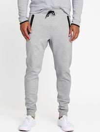 Old Navy Mens Go-Dry Tech-Fleece Joggers For Men Light Gray ...