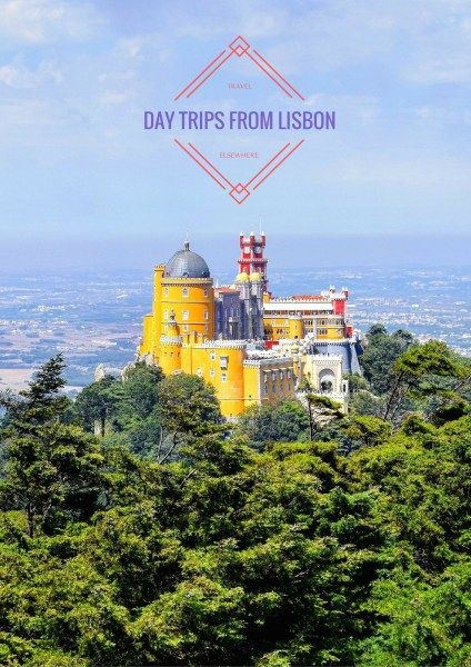 4 Day Trips you can make from Lisbon, Portugal @travelsewhere