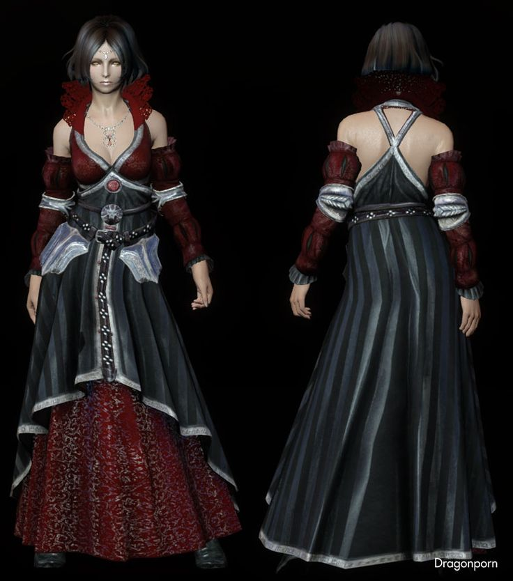 The Witcher 2 - Eilhart Dress : DRAGONPORN