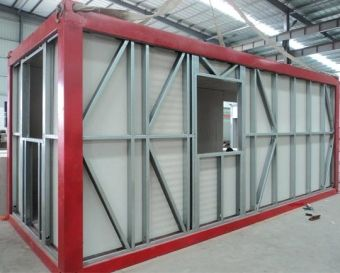 Modular Building Steel Structure Air Bridge with Square Tube Steel Frame에 대한 이미지…