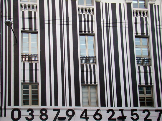 Creative Display Of Barcode