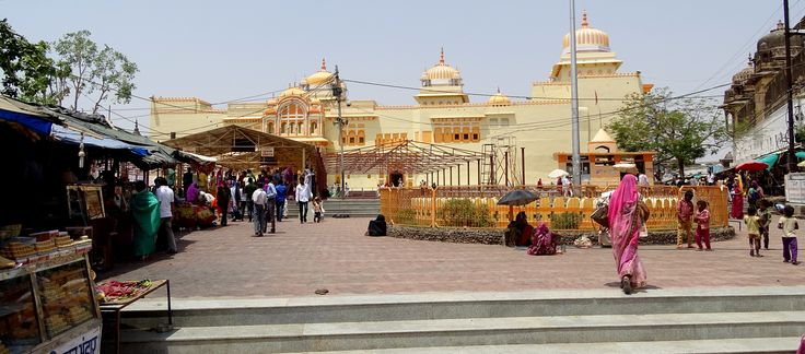 Entrance view of Raja Ram Temple Orchha. Lord Ram is chief deity of this temple.
