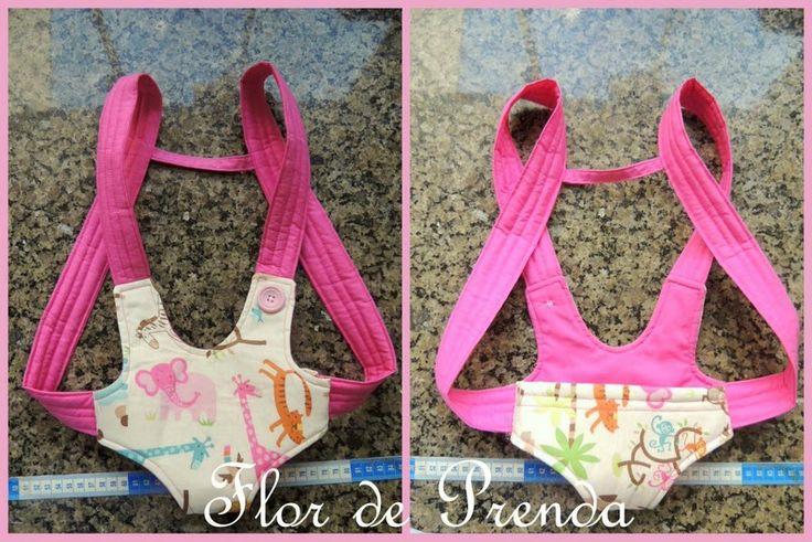 Flor de Prenda: Canguru de Boneca + PAP