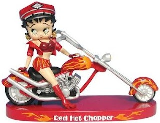 Betty Boop Pictures Archive: Biker Betty