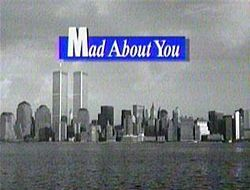 Mad About You is an American sitcom that aired on NBC from September 23, 1992 to May 24, 1999. The show stars Paul Reiser and Helen Hunt as a newly married couple in New York City. Reiser played Paul Buchman, a documentary film maker. Hunt played Jamie Stemple Buchman, a public relations specialist. Near the end of the show's run, the couple had a baby daughter, whom they named Mabel.