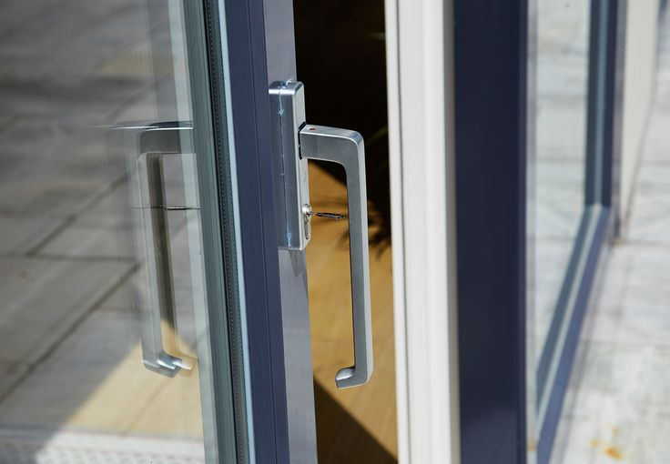 Lift Slide Door Chrome Hardware