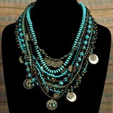 exotic!Turquoise Necklace, Perfect
