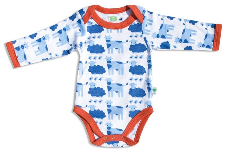 Organic bodysuit - Farm Retro Baby Clothes - Baby Boy clothes - Danish Baby Clothes - Toddler clothing - Baby Clothing - Baby clothes Online