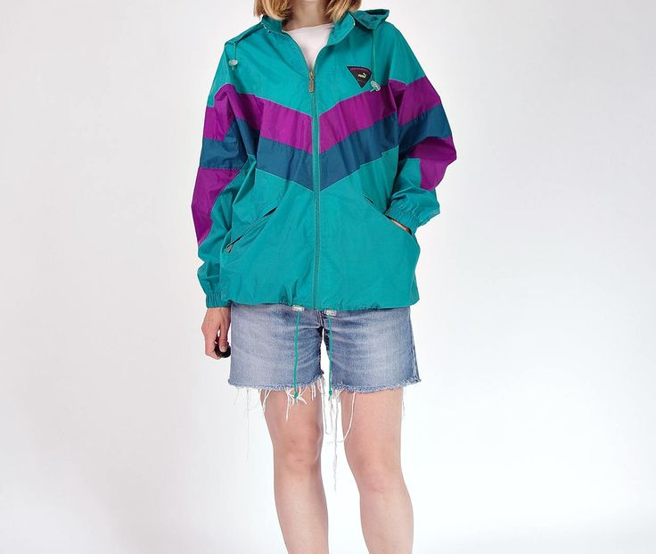80s PUMA impermeable packable windbreaker / size L-XL by Only1Copy on Etsy