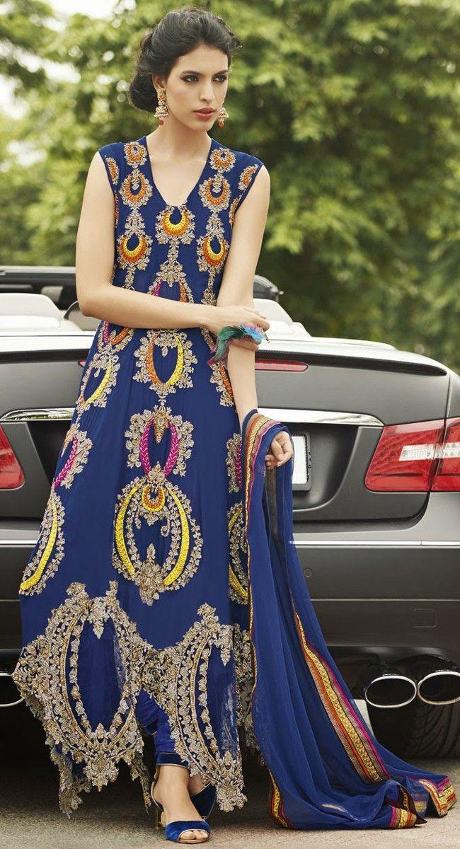 Glamorous Off White Salwar Kameez