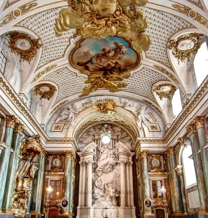 Church in Stockholm Palace, Sweden