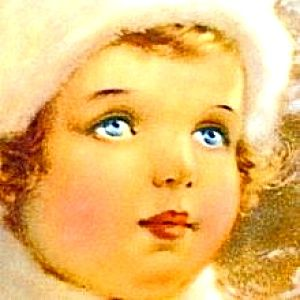 Bessie Pease GutmannArtbessi Peas, Bessie Pease Gutmann, Bessie Peas Gutmann, Peas Guttman, Children Illustration, Bessie Peace, Vintage Art, Christmas Plates, Memorize Illustration