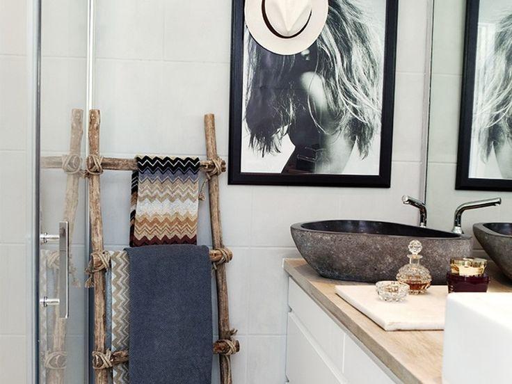 17 mejores ideas sobre ba o con toallero en pinterest - Cambiar radiador por toallero ...