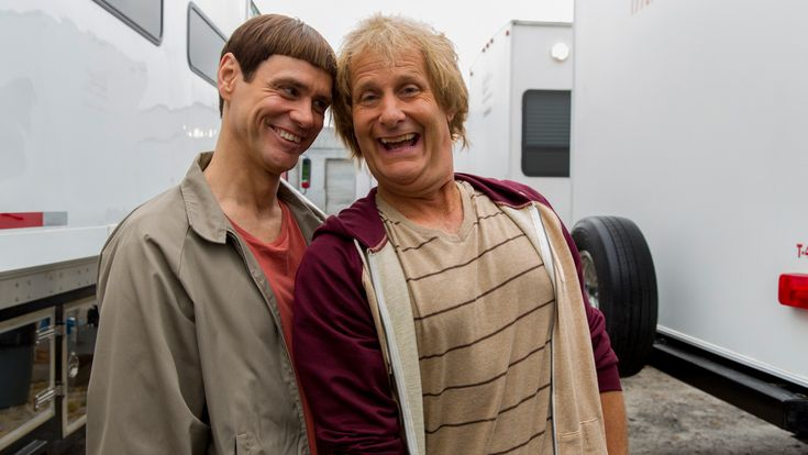 Jim Carrey, Jeff Daniels Reveal First Set Photos From 'Dumb and Dumber To'
