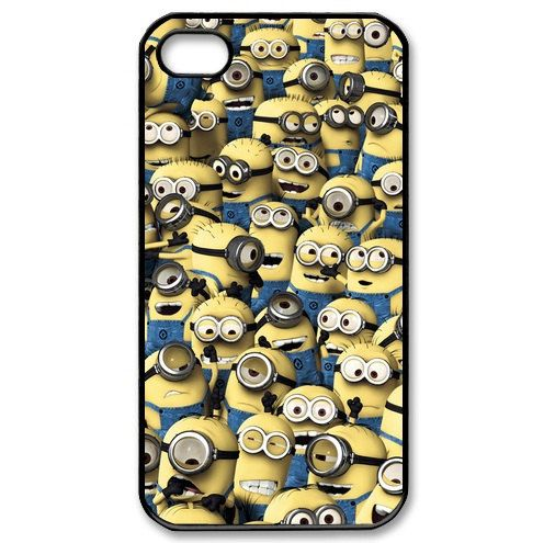 Funny cute despicable me minion  Phone Cover by littlebeecase, $14.00