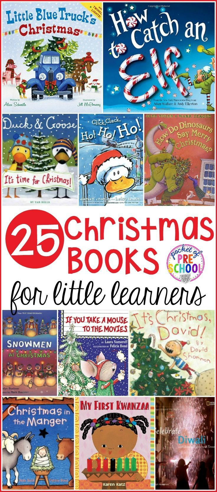 Christmas Books For Little Learners Books Pinterest Preschool