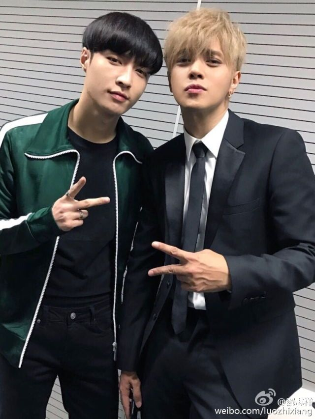 Zhang Yixing and Show Luo