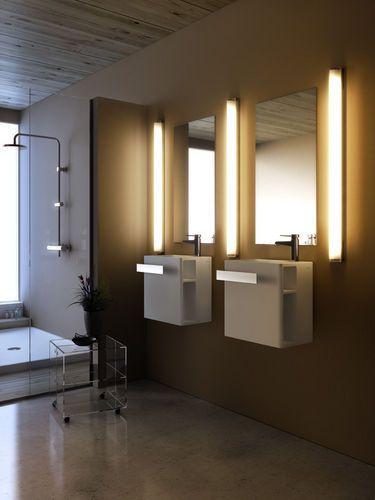 Applique da parete moderno per bagno MANHATTAN T5 by Joan Gaspar Marset Iluminacion