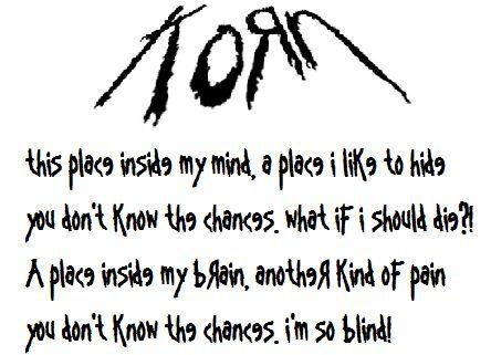 Korn - Blind lyrics