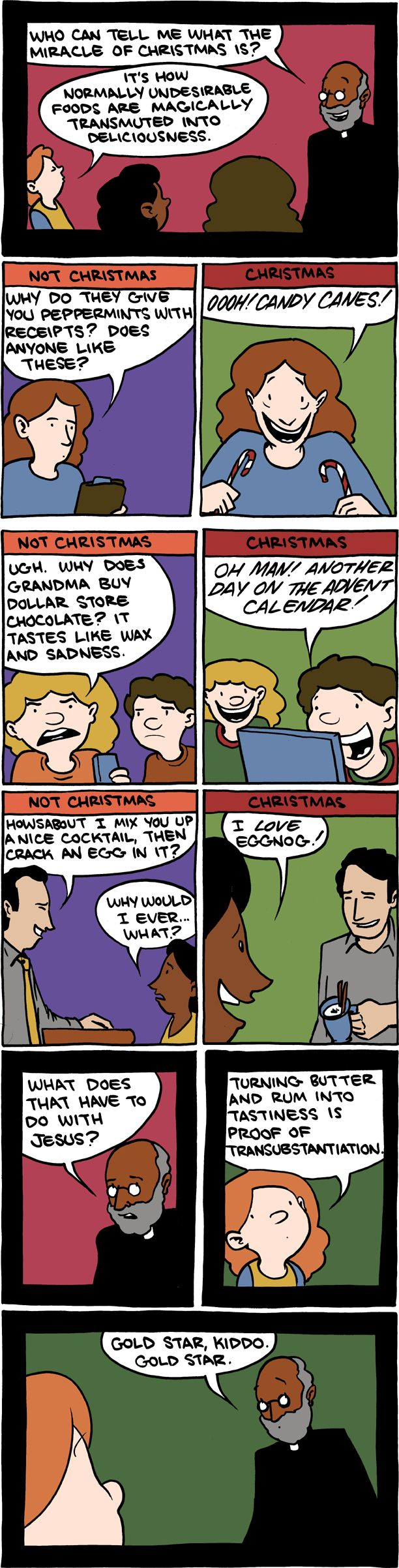 Not Christmas vs. Christmas Saturday Morning Breakfast Cereal
