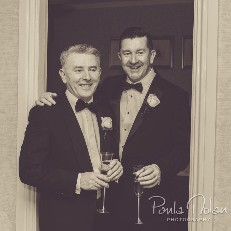 Joseph K and Brendan, Humanist wedding, St Helen's Hotel, Stillorgan