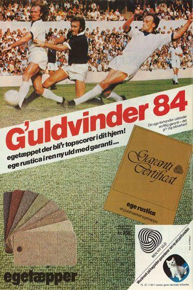 Der var både guldvindere og uldvindere i 1984 ;)