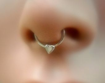 Anillo de tabique nariz anillo aro de por Holylandstreasures
