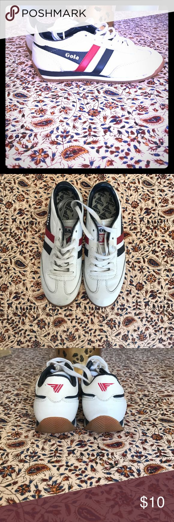 Retro sneakers Some scuffs and stains but otherwise in good condition retro sneakers. Gola Shoes Sneakers