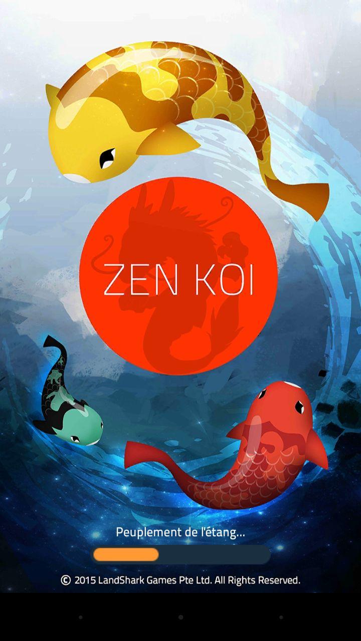 Zen Koï jeu Smartphone