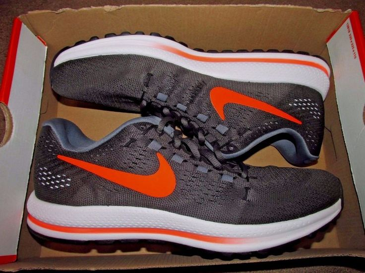 Nike Air Zoom Vomero 12 Mens Running Shoes Midnight Fog Total Crimson  863762 007