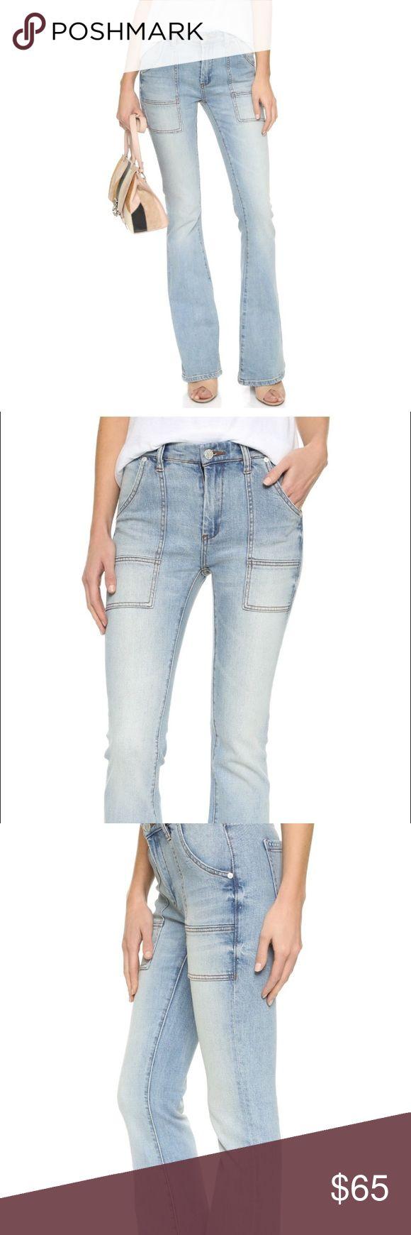 "Blank Denim Flare Jeans NYC by Shopbop Brand new with tags Blank Denim NYC Flare Jean in faded wash ""secret box"" in size 30. Blank Denim Jeans Flare & Wide Leg"