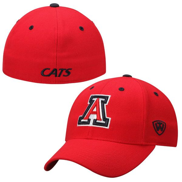 Top of the World Arizona Wildcats Red Dynasty Memory Fit Fitted Hat, $29.99 http://shareasale.com/m-pr.cfm?merchantid=45646&userid=646297&productid=646722236&afftrack=