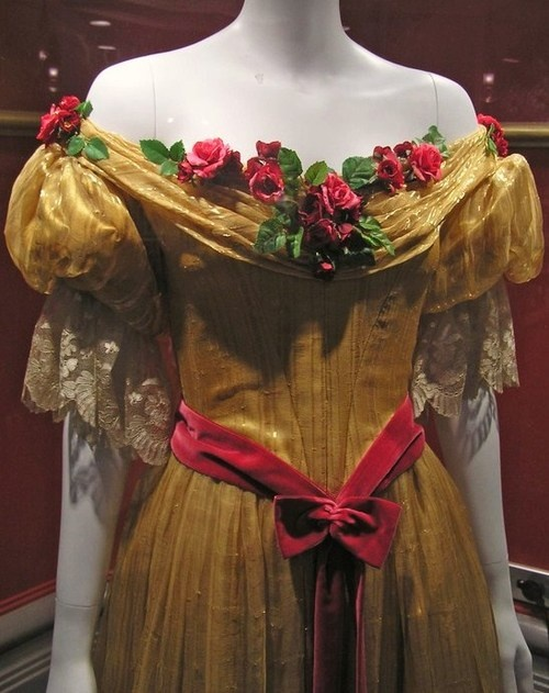 Dress belonging to a young Queen Victoria