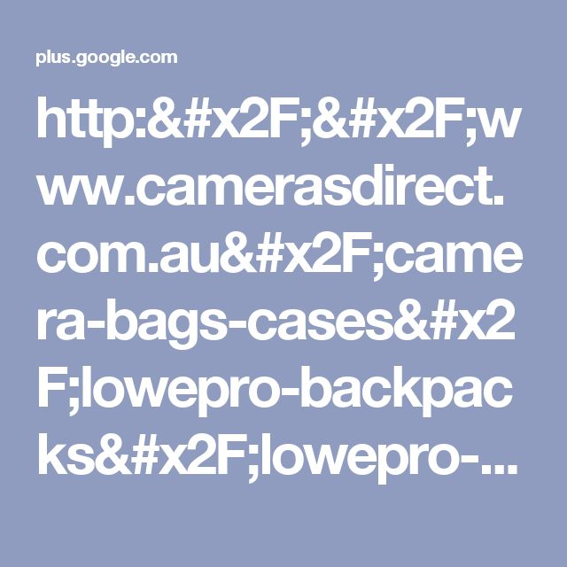 http://www.camerasdirect.com.au/camera-bags-cases/lowepro-backpacks/lowepro-s...