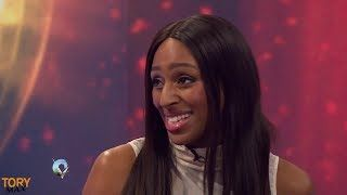 Alexandra Burke and Gorka Marquez interview Strictly