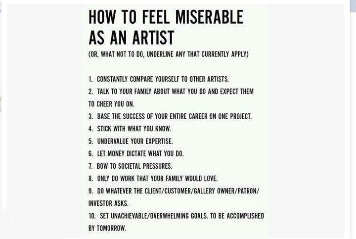 Needs to go in my studio space if and when I get it doneRemember This, True Facts, Feelings Miserables, So True, Funnyness And True, Good Advice, Art Rooms