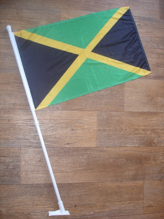 custom made jamaika flag by customflag on Etsy, $55.00