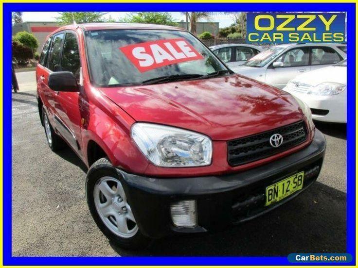 2001 Toyota RAV4 ACA21R Edge (4x4) Red Automatic 4sp A Wagon #toyota #rav4 #forsale #australia