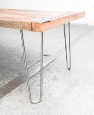 Kate does some mega-research online and finds 9 places to buy steel hairpin table legs to create a vintage style table or planter.