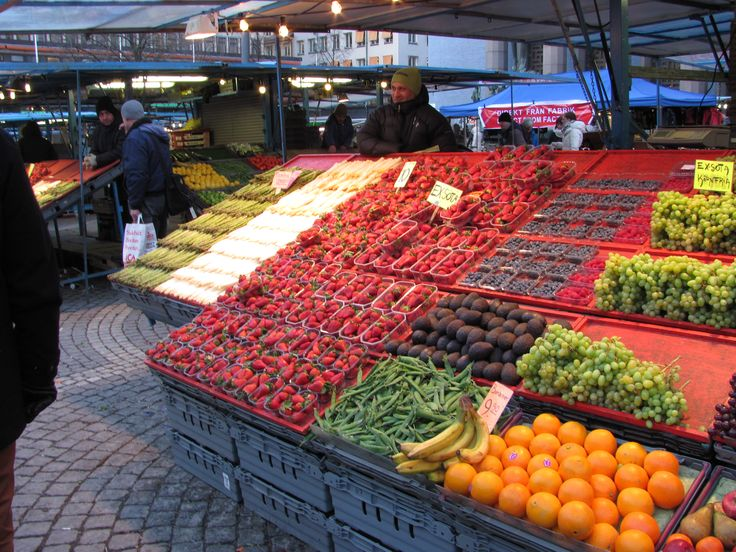 Stockholm, Sweden, Market www.rozsakunyho.hu