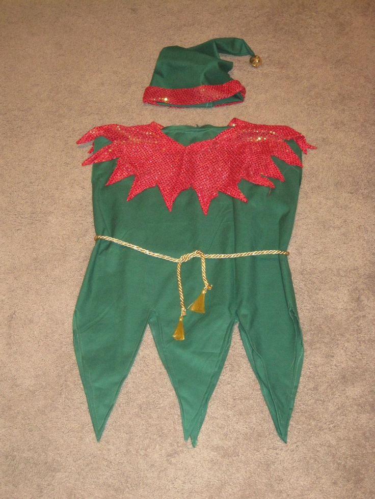 17 Best Images About Elf Clothing And Accesories On & Christmas Elf Costume Patterns - Meningrey