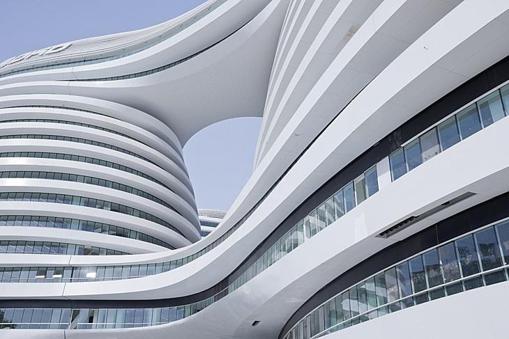 Galaxy SOHO, Beijing, China by Zaha Hadid Architects.